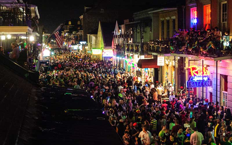 Bourbon Street by Craig Stanfill (Flickr)